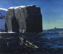 Рокуэлл Кент. Труженики моря. 1907