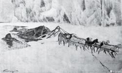 На молодом льде, 1913