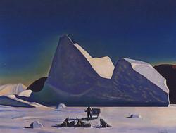 Художник. Гренландия. 1935