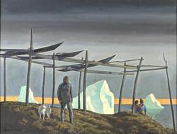 Каяки. Гренландия. 1933