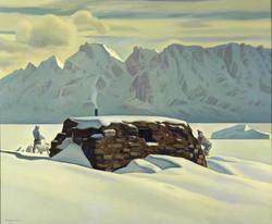 Рокуэлл Кент. Зимний день. Гренландия. 1933