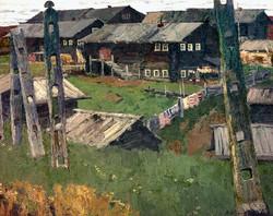 Село Шотова гора. 1963