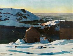 Зима. Остров Монеган. 1907