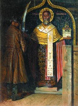 Икона Святого Николы Угодника с верховьев реки Пинеги, 1896jpg