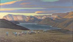 Погребальная процессия. Северная Гренландия. 1932