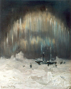 The Northern Light near Nova Zembla