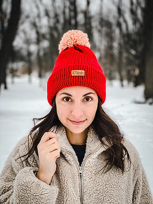 Winter Cap in Red