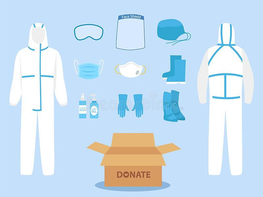 people-donate-ppe-personal-protective-su
