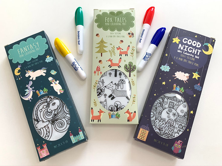 Coloring Party Pack - Set of 3 OR buy individually