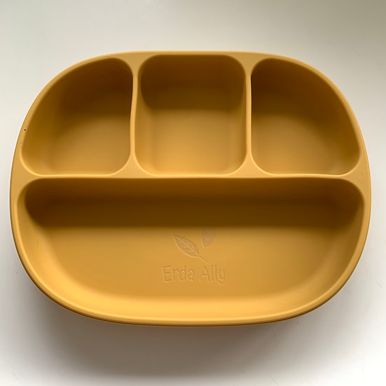 Silicone Suction Divided Plate