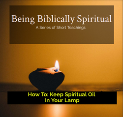 How To Keep Spiritual Oil in Your Lamp