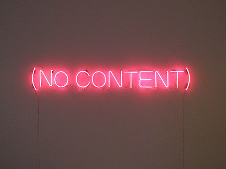To Content Market or Not to Content Market
