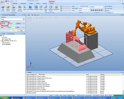 CAD data is processed and posted