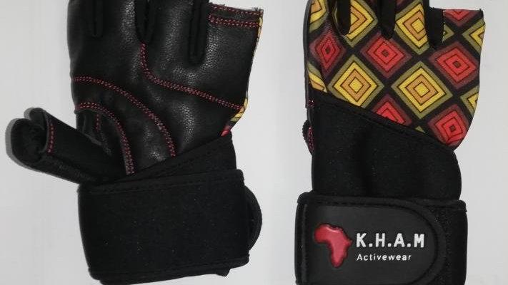 Wrist Wrap Gym Gloves