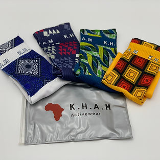 K.H.A.M Sock African print
