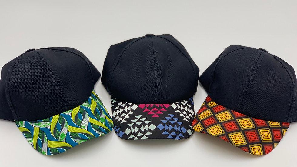 AFRICAN PRINT Baseball Caps