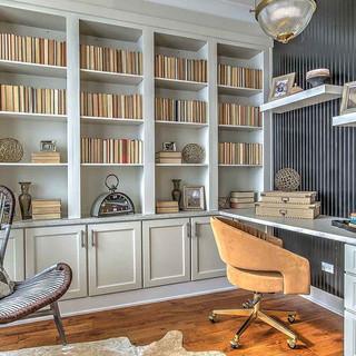 Addison 5PC Linen Office Nook Built-In 2