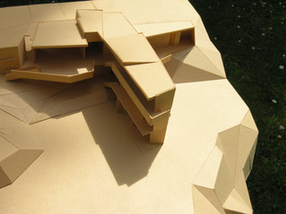 Modell Einfamilienhaus