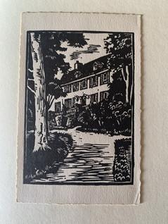 Dessin archive Château de Laforest