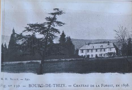 Château de Laforest en 1898
