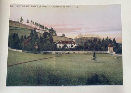 Ancienne Carte Postale du Château de Laf