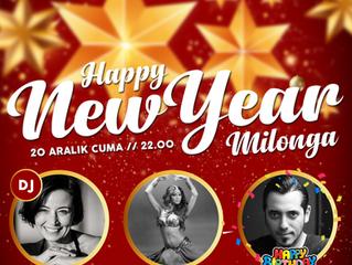 İddia ediyoruz, 2019 yılının en eğlenceli en bomba milongası / yeni yıl partisi bu cuma günü Otra&#3