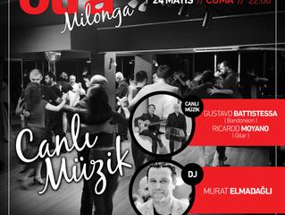 otraMilonga' da Bu Hafta Harika Bir Canlı Müzik Performansı Var !