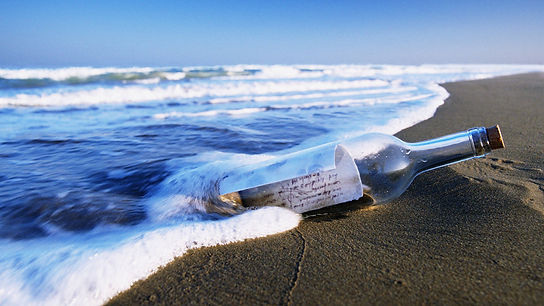 Contact Us - Message in a Bottle
