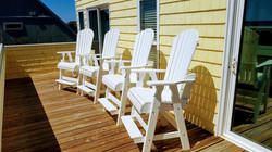 Upper deck chairs
