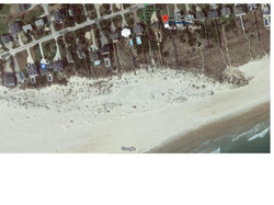 Satellite view of Sea Our Point. Note the huge beach at the Point!