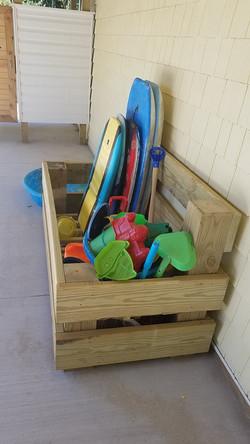 Beach toybox