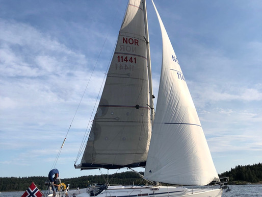Ny båt og laaangt hjem....