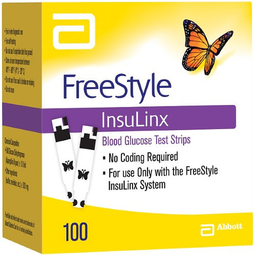 FREESTYLE INSULINX - 100 CT