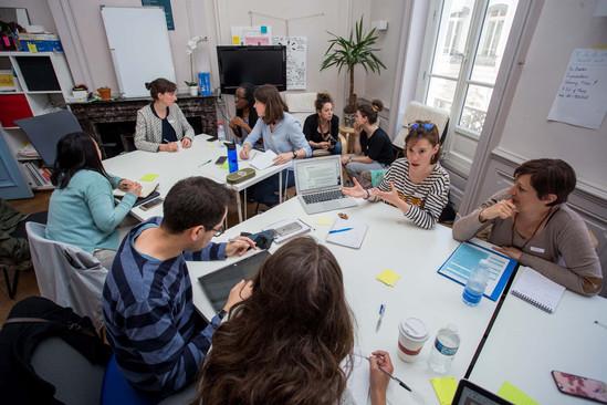 French recruitment workshop