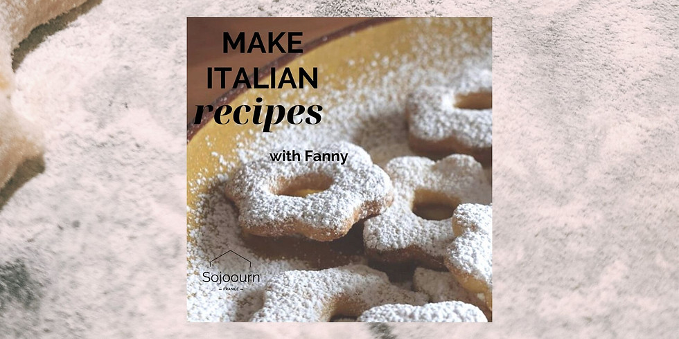 Italian Cooking Class: Canestrelli Party!