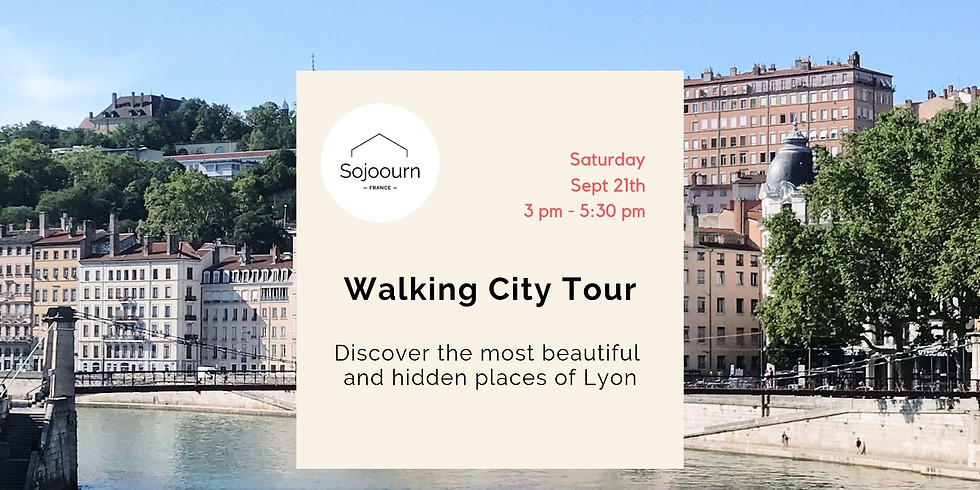 Walking city tour and fun facts about Lyon