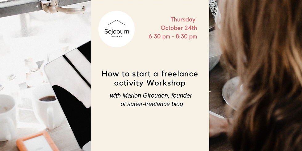 How to start a freelance activity in France Workshop