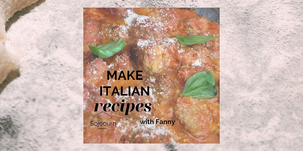 Italian Cooking Class: Polpette di Luciano!