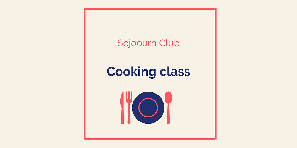 Cooking class (members only)