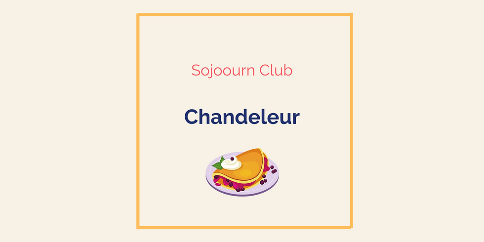 Chandeleur - Pancake Day (members only)