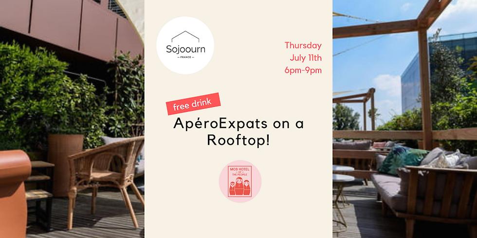 ApéroExpats on a Rooftop! - July