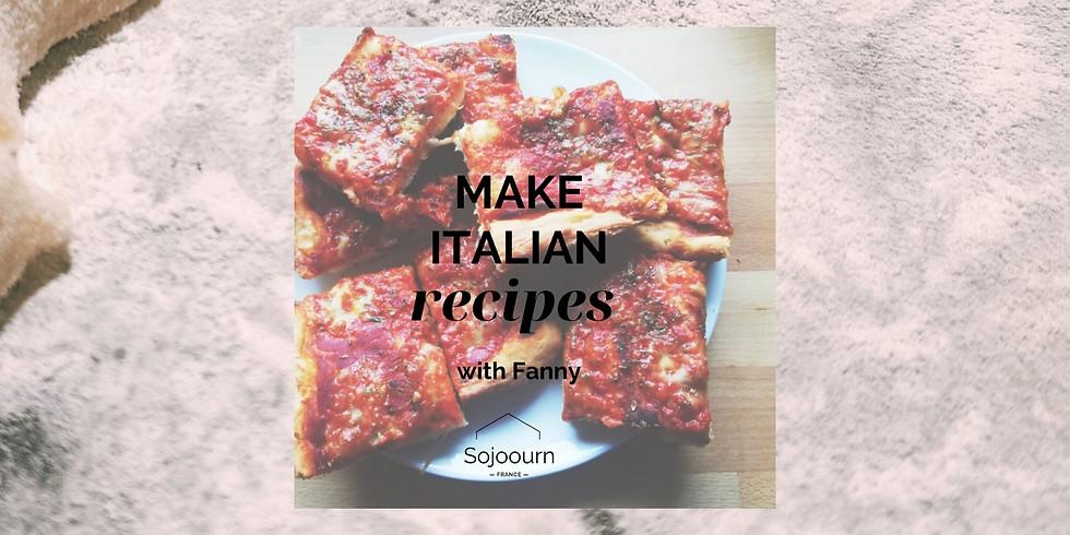 Italian Cooking Class: Pizza!