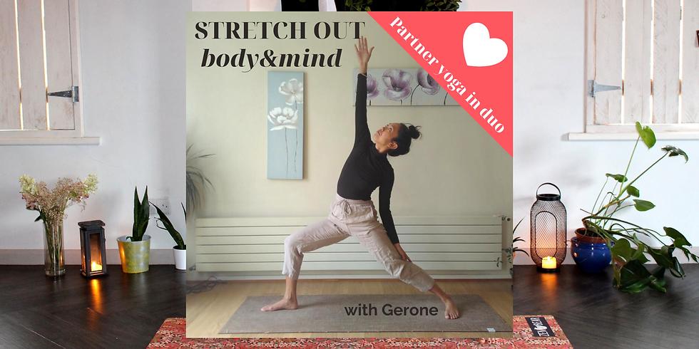 Partner yoga with Gerone + massage