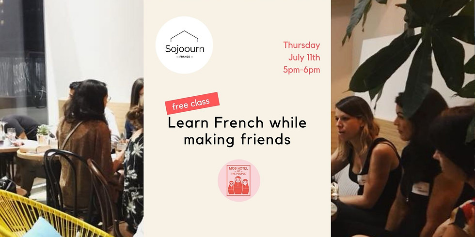 Learn French while Making Friends