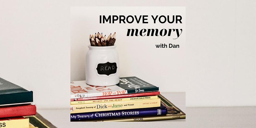 Improve your memory workshop