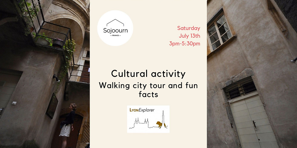 Walking city tour and fun facts