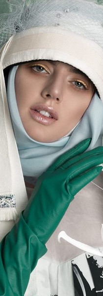 as-I-am magazine green gloves