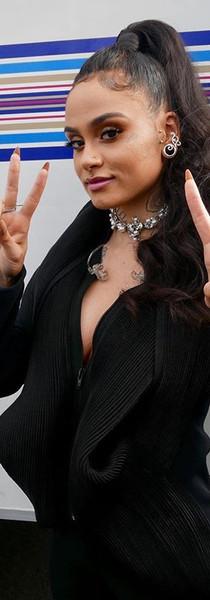 Kehlani x Iheart Music Awards Nylon zipper Jacket