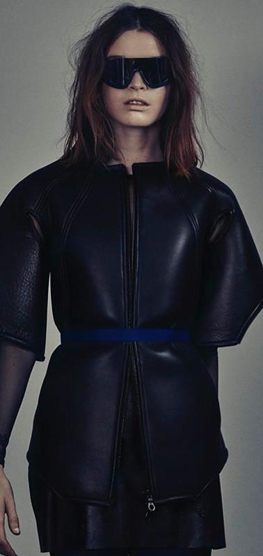 Schön Magazine Leather vest