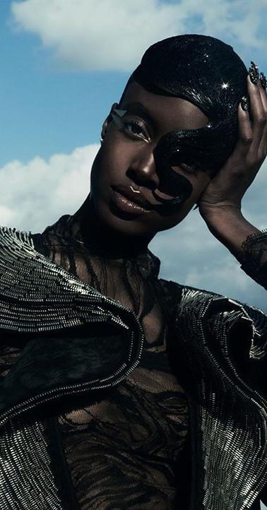 Vogue Portugal metal zipper wings